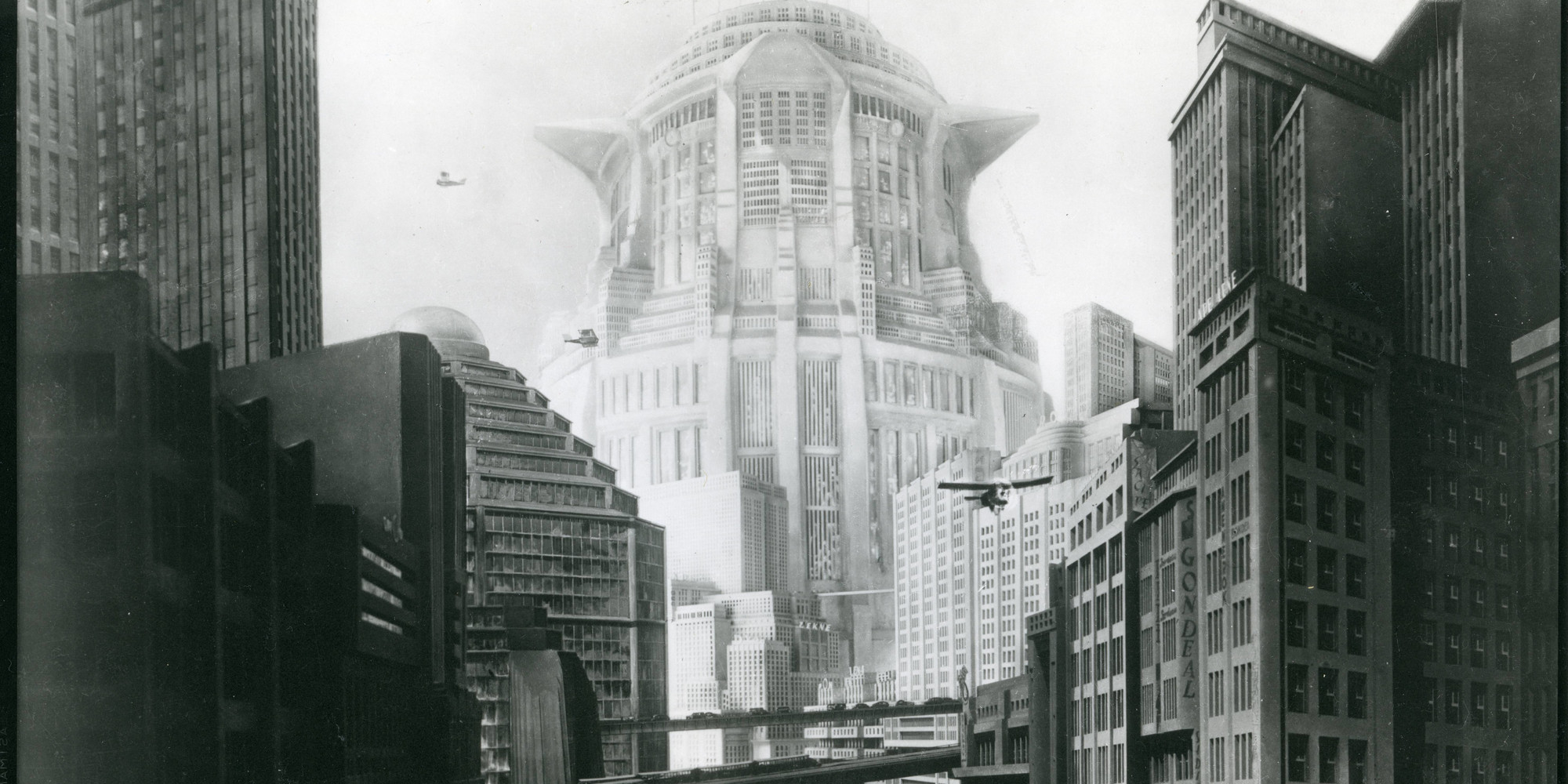Film still from Metropolis. 1927. Germany. Directed by Fritz Lang. Gelatin silver print. Film Study Center Special Collections