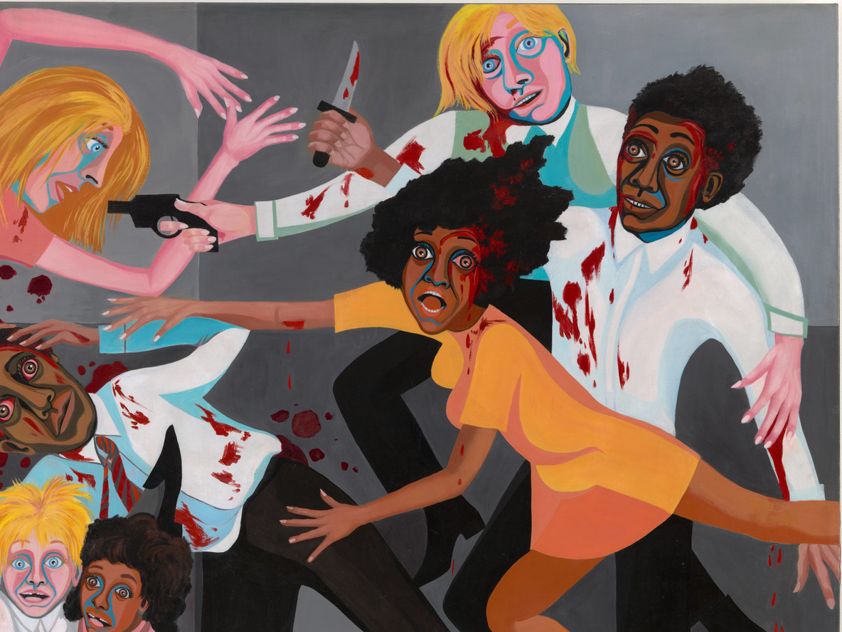 Fig. 2. Faith Ringgold. American People Series #20: Die (detail). 1967