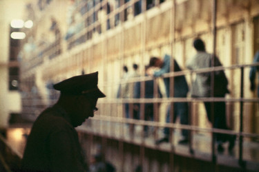 Gordon Parks. <em>Untitled, San Quentin, California</em>. 1957. Pigmented inkjet print, printed 2019, 11 7/8 × 17 15/16&quot; (30.1 × 45.6 cm). The Family of Man Fund. © 2020 Gordon Parks Foundation