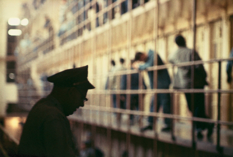 "Gordon Parks. Untitled, San Quentin, California. 1957. Pigmented inkjet print, printed 2019, 11 7/8 × 17 15/16"" (30.1 × 45.6 cm). The Family of Man Fund. © 2020 Gordon Parks Foundation"