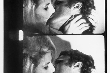 Kiss. 1963–64. USA. Directed by Andy Warhol. © The Andy Warhol Museum, Pittsburgh, PA, a museum of Carnegie Institute. All rights reserved