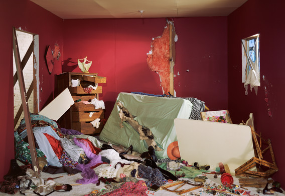 Jeff Wall. The Destroyed Room. 1978