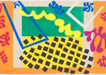 "Henri Matisse. The Codomas (Les Codomas) from Jazz. 1947. One from a portfolio of twenty pochoirs. composition (irreg.) and sheet: 16 5/8 x 25 5/8"" (42.2 x 65.1 cm). Gift of the artist. © 2020 Succession H. Matisse / Artists Rights Society (ARS), New York"