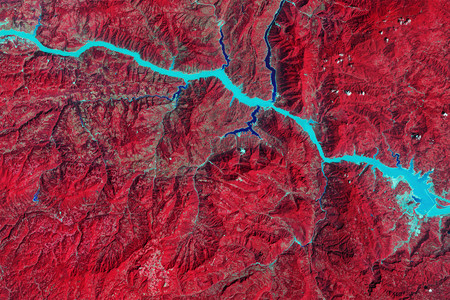 NASA. Images of Change, Three Gorges Dam, central China. August 22, 2016. Courtesy NASA.
