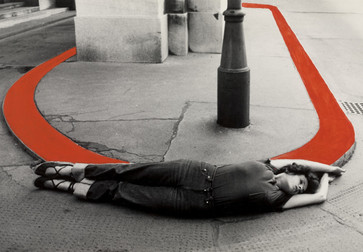 VALIE EXPORT. Encirclement from the series Body Configurations. 1976.