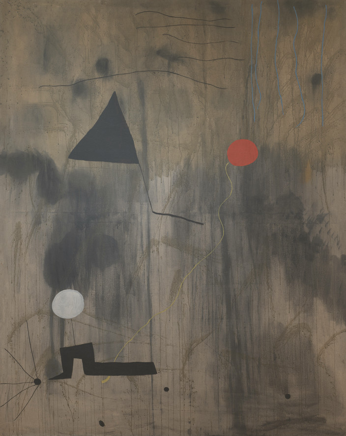 Joan Miró. The Birth of the World. 1925