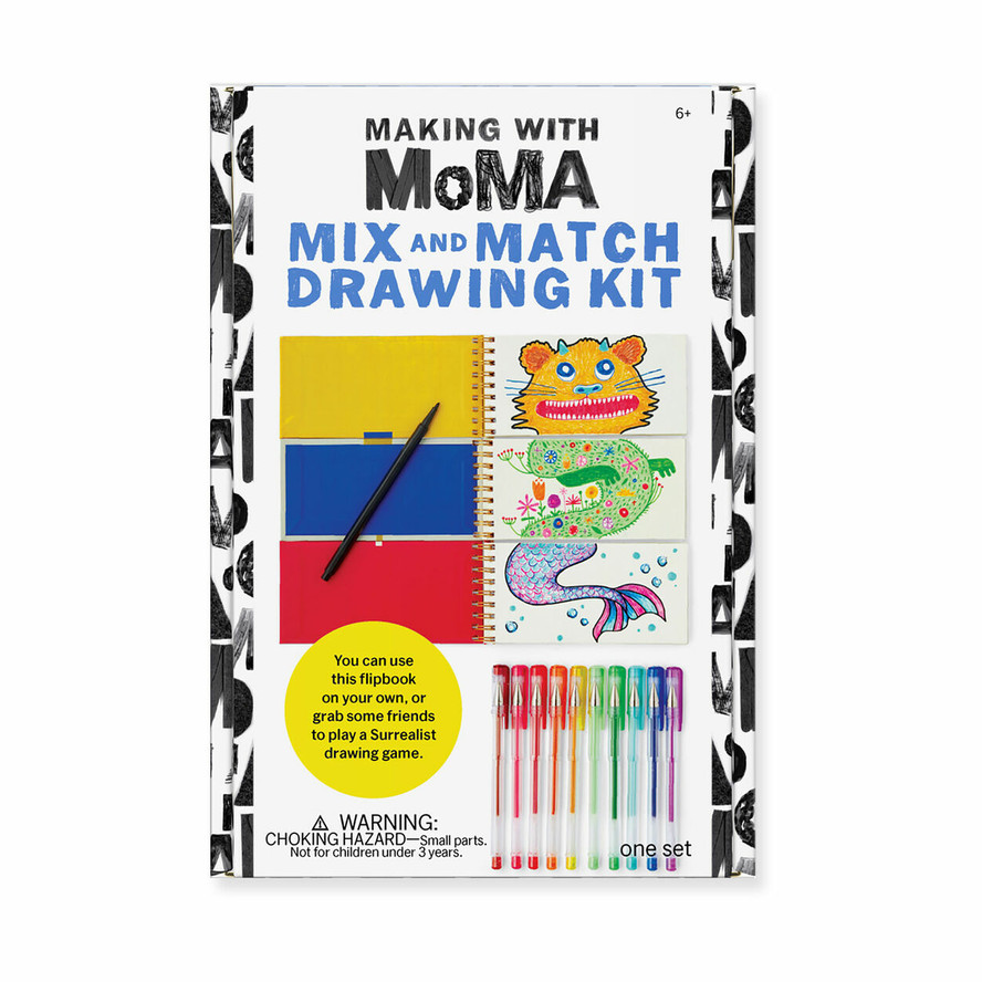 Making with MoMA: Mix and Match Drawing Kit