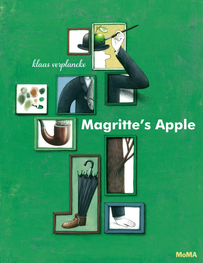 Magritte's Apple, by Klaas Verplancke