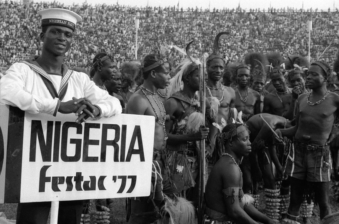 The Second World Black and African Festival of Arts and Culture (FESTAC '77). Image © Marilyn Nance