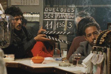 Production still from De quelques événements sans signification (About Some Meaningless Events). 1974. Morocco. Directed by Mostafa Derkaoui. Courtesy Filmoteca de Catalunya