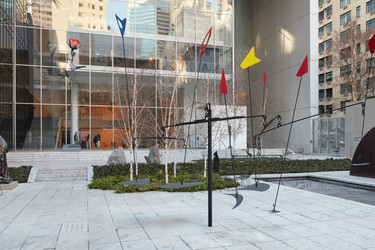 Alexander Calder. Man-Eater with Pennants. 1945. Painted steel rods and sheet iron. The Museum of Modern Art, New York. Purchase. © 2021 Calder Foundation, New York/Artists Rights Society (ARS), New York. Photo: Denis Doorly