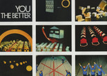 Ericka Beckman. Film frames from You the Better. 1983. Courtesy the artist