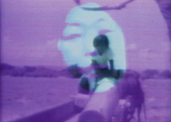 Fig. 19: Shigeko Kubota. Video Girls and Video Songs for Navajo Sky. 1973