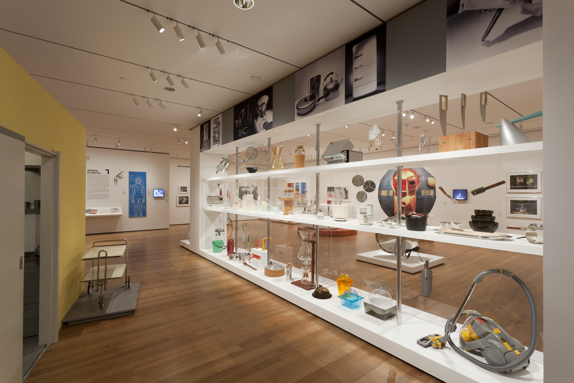 Installation View Of The Exhibition Counter Space Design And The Modern Kitchen Moma