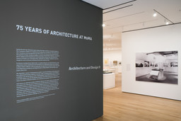 75 Years of Architecture at MoMA. Nov 16, 2007–Mar 31, 2008. 3 other works identified