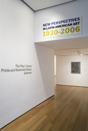New Perspectives in Latin American Art, 1930–2006: Selections from a Decade of Acquisitions. Nov 21, 2007–Feb 25, 2008.
