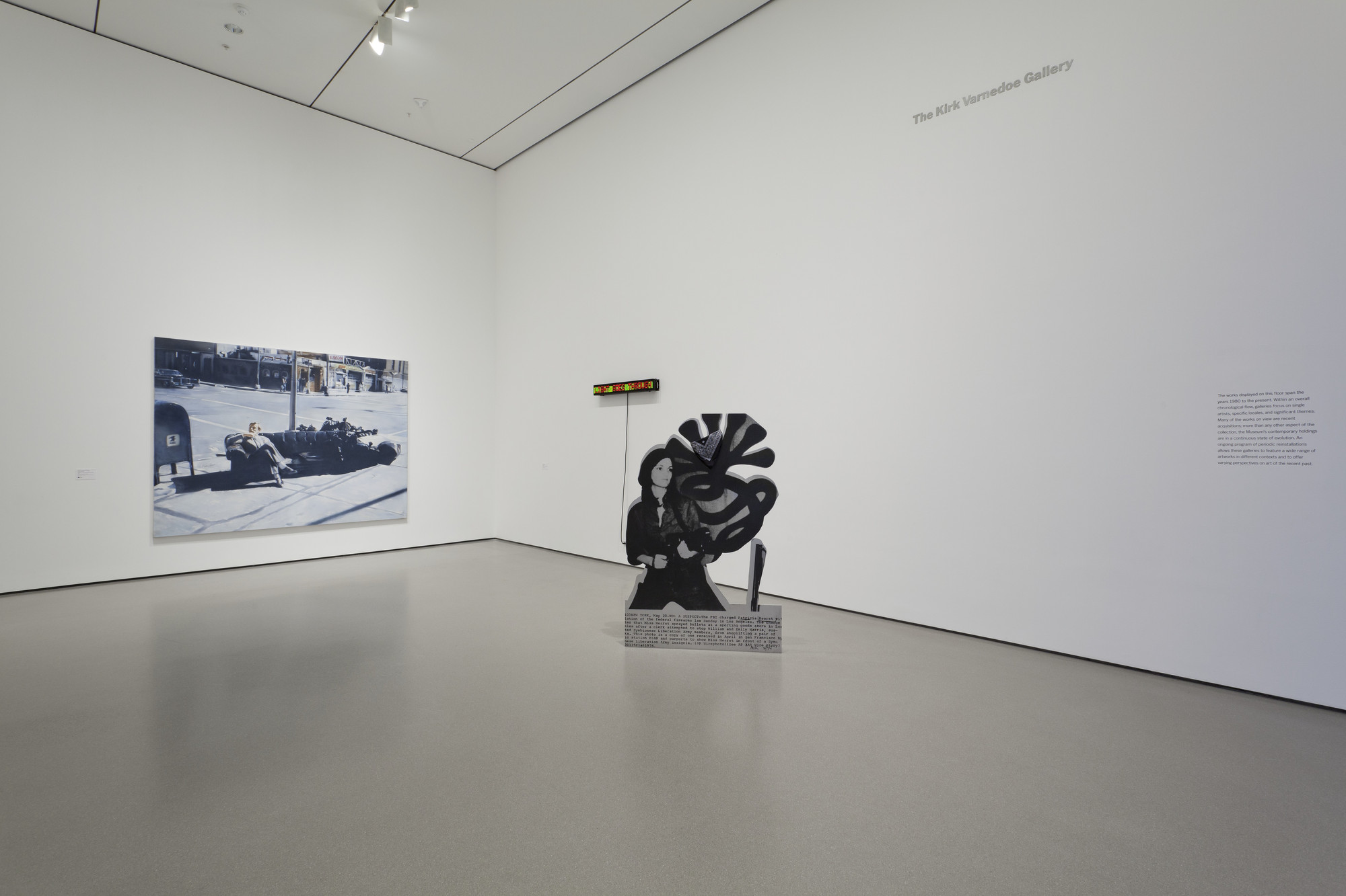 "Installation view of the exhibition, ""Contemporary Galleries:  1980 - Now"" November 16, 2011–February 9, 2014. IN2176.1. Photograph by Jonathan Muzikar."