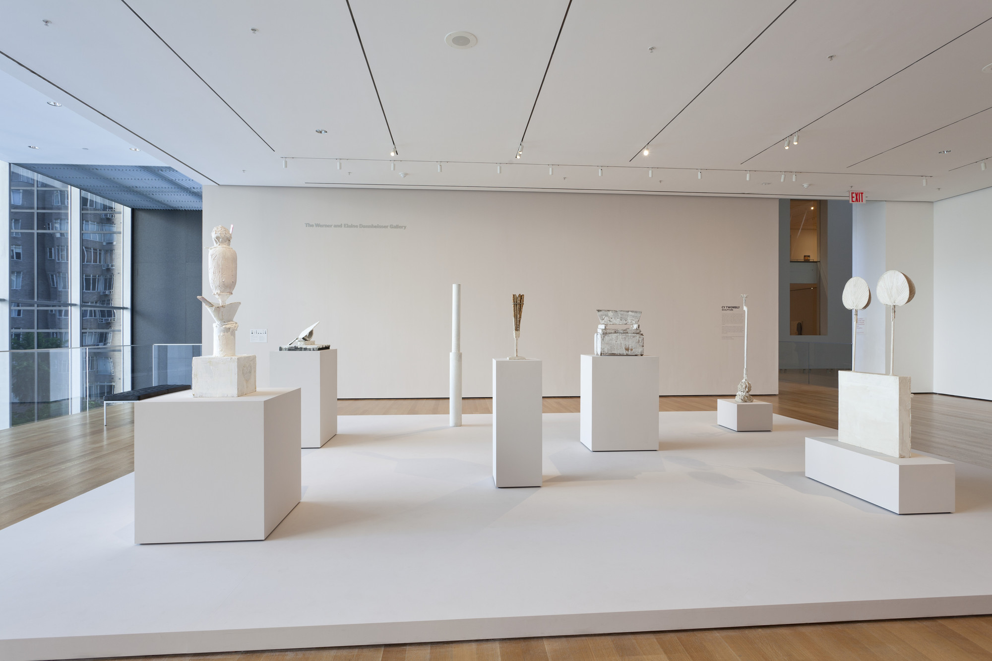 "Installation view of the exhibition, ""Cy Twombly: Sculpture"" May 20, 2011–January 2, 2012. IN2159.1. Photograph by Jonathan Muzikar."