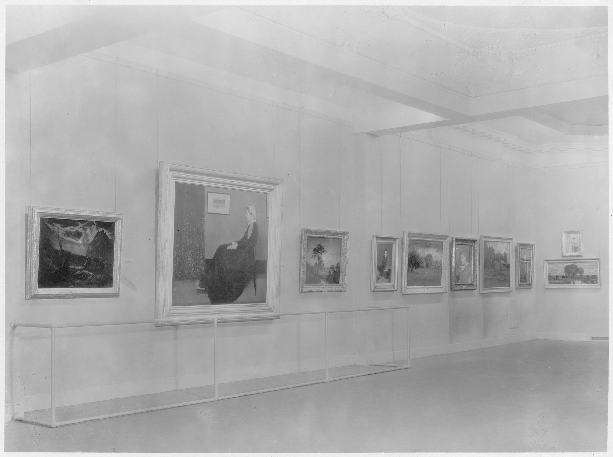"Installation view of the exhibition, ""American Painting and Sculpture, 1862-1932"" October 31, 1932–February 11, 1933. Photographic Archive. The Museum of Modern Art Archives, New York. IN20.1. Photograph by Soichi Sunami."