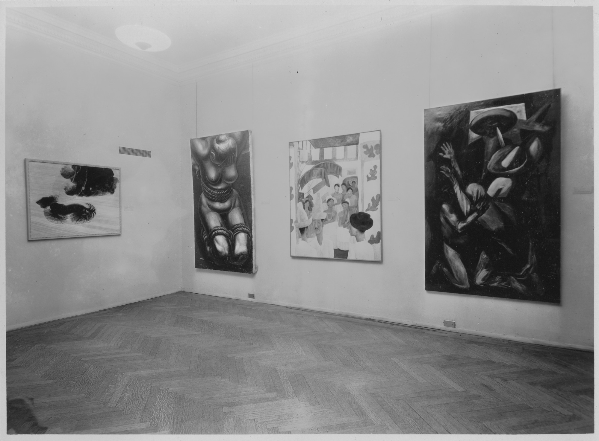 "Installation view of the exhibition, ""Modern Works of Art:   5th Anniversary Exhibition."" November 19, 1934–January 20, 1935. Photographic Archive. The Museum of Modern Art Archives, New York. IN37.2. Photograph by Soichi Sunami."