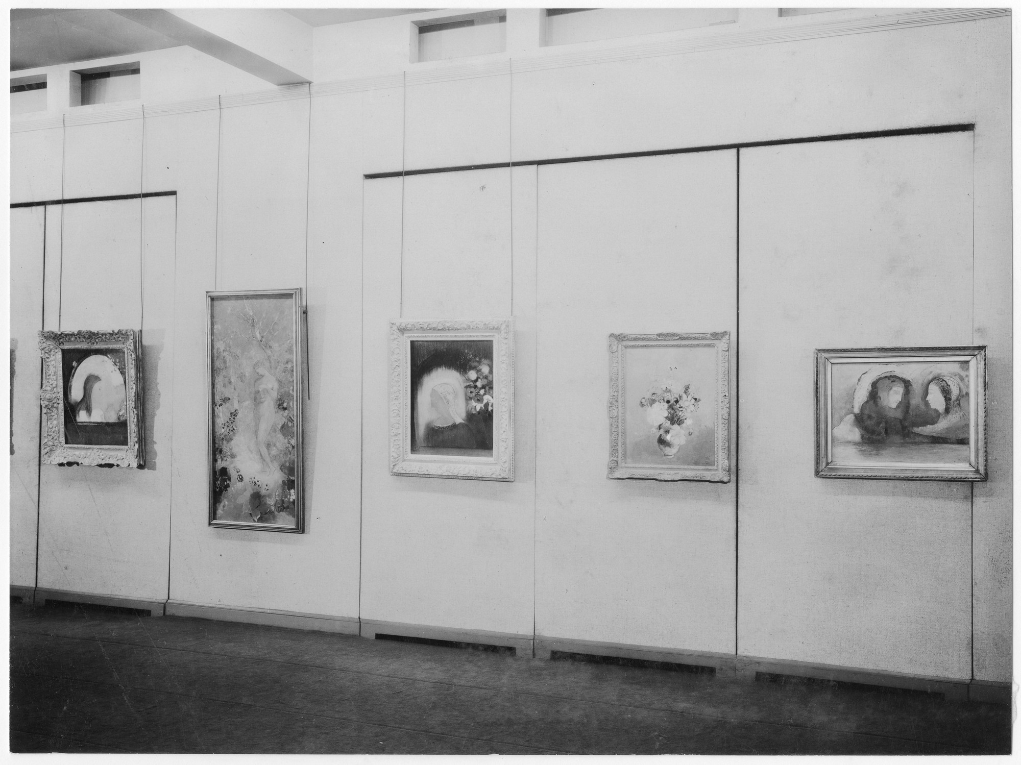 "Installation view of the exhibition, ""Toulouse-Lautrec, Redon."" January 31, 1931–March 2, 1931. Photographic Archive. The Museum of Modern Art Archives, New York. IN10.1. Photograph by Peter A. Juley."