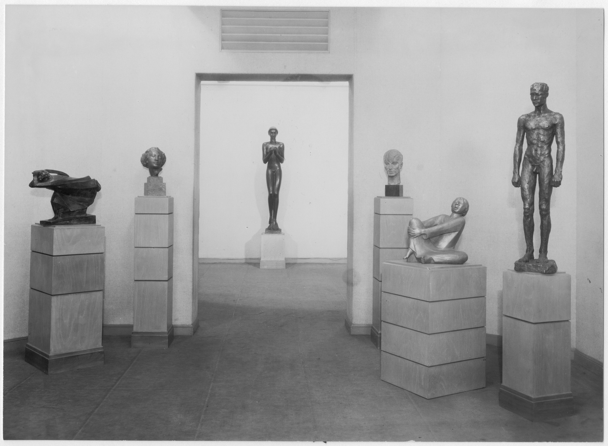 "Installation view of the exhibition, ""German Painting and Sculpture."" March 12, 1931–April 26, 1931. Photographic Archive. The Museum of Modern Art Archives, New York. IN11.1. Photograph by Peter A. Juley."