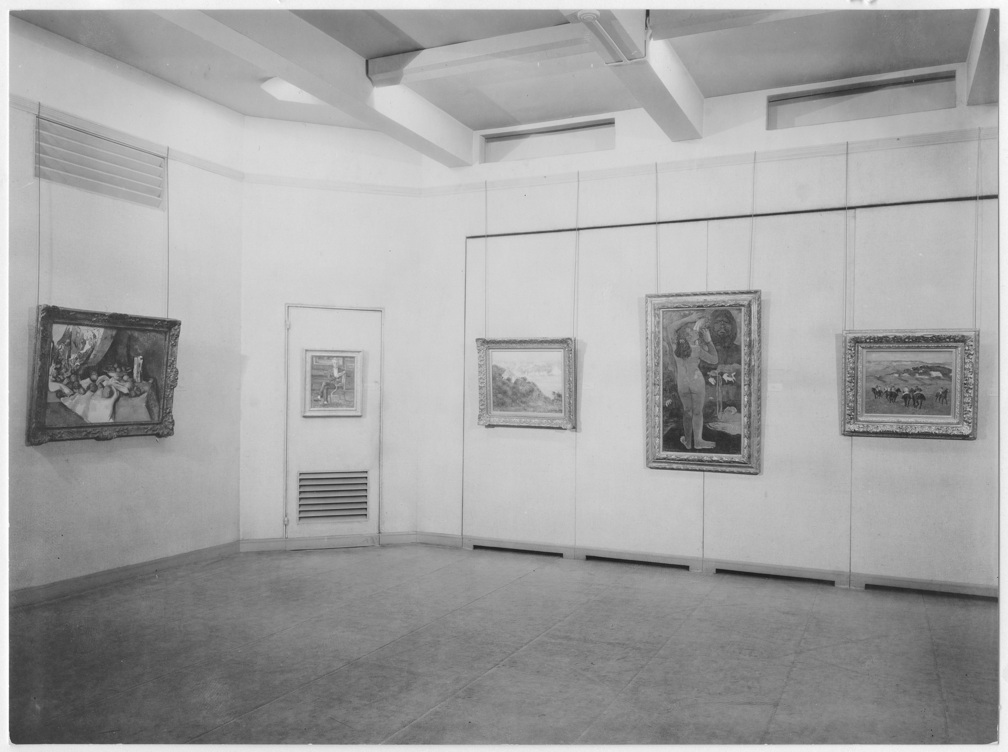 "Installation view of the exhibition, ""Memorial Exhibition: The Collection of the Late Lillie P. Bliss."" May 17, 1931–October 6, 1931. Photographic Archive. The Museum of Modern Art Archives, New York. IN12.1. Photograph by Peter A. Juley."