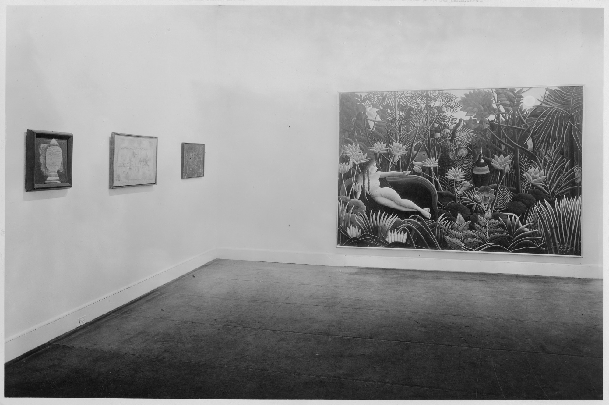 "Installation view of the exhibition, ""Summer Exhibition:  The Museum Collection and a Private Collection on Loan."" June 4, 1935–September 24, 1935. Photographic Archive. The Museum of Modern Art Archives, New York. IN41.1. Photograph by Soichi Sunami."