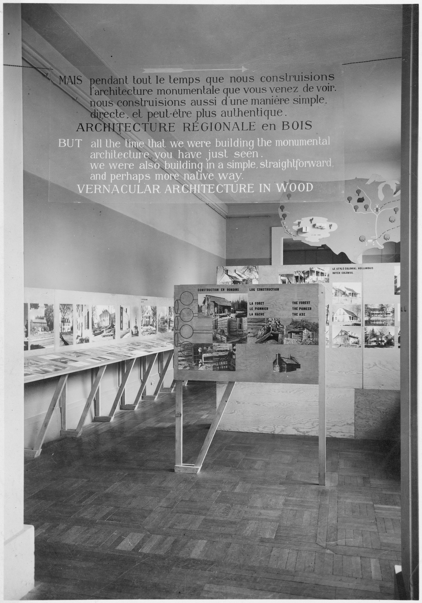 "Installation view of the exhibition, ""Three Centuries of American Art"" May 24, 1938–July 31, 1938. Photographic Archive. The Museum of Modern Art Archives, New York. IN76a.1"