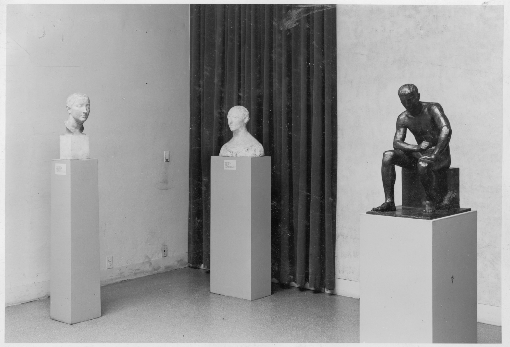 "Installation view of the exhibition, ""Painting and Sculpture from the Museum Collections."" October 23, 1940–January 12, 1941. Photographic Archive. The Museum of Modern Art Archives, New York. IN110.1A"