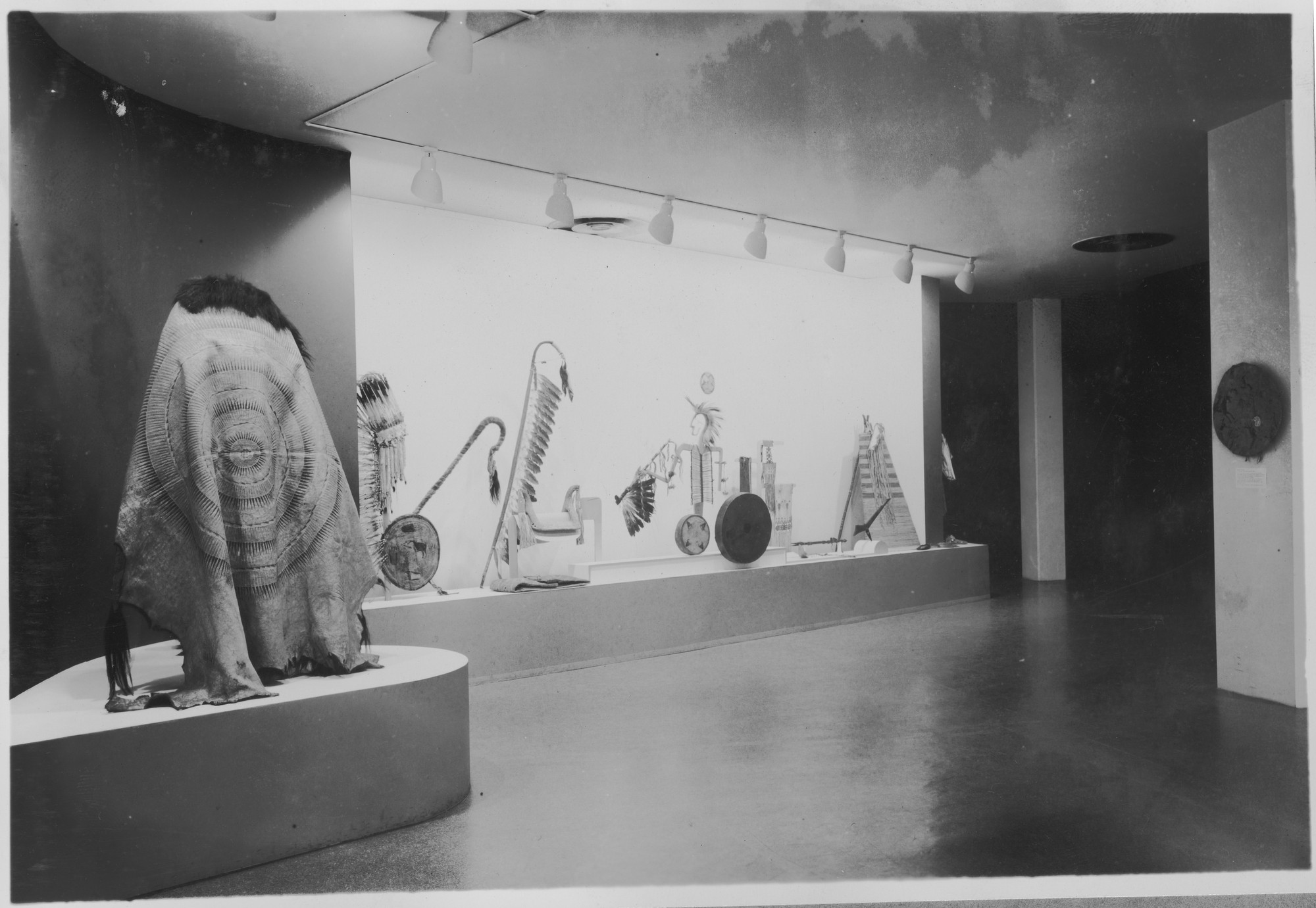 """Installation view of the exhibition, """"Indian Art of the"""