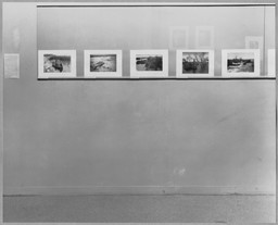New Acquisitions: Photographs. Jan 13–Feb 25, 1942. 1 other work identified