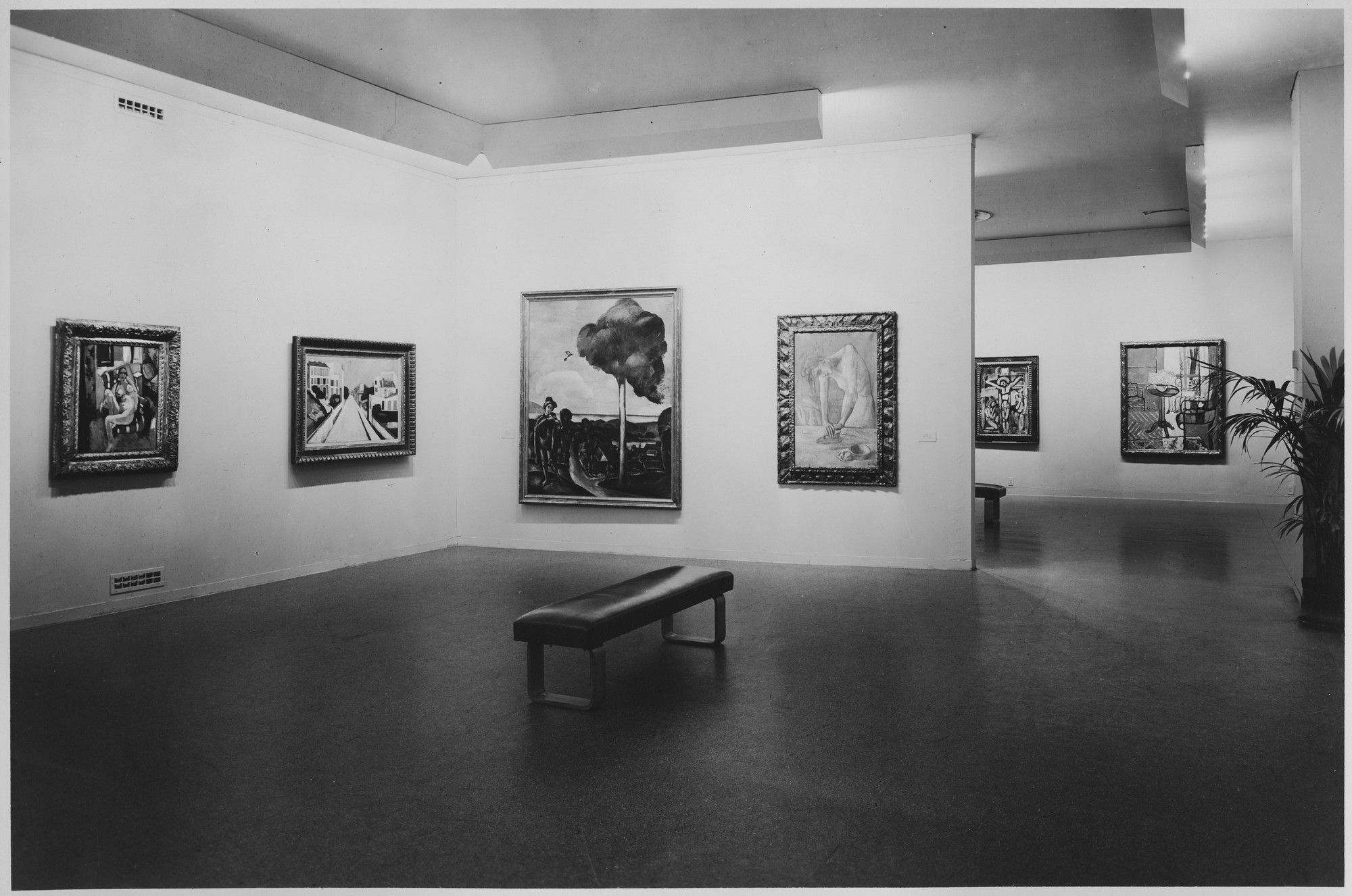 "Installation view of the exhibition, ""Painting, Sculpture, Prints,"" in the series, ""Art in Progress:  15th Anniversary Exhibition."" May 24, 1944–October 15, 1944. Photographic Archive. The Museum of Modern Art Archives, New York. IN258a.1. Photograph by Soichi Sunami."