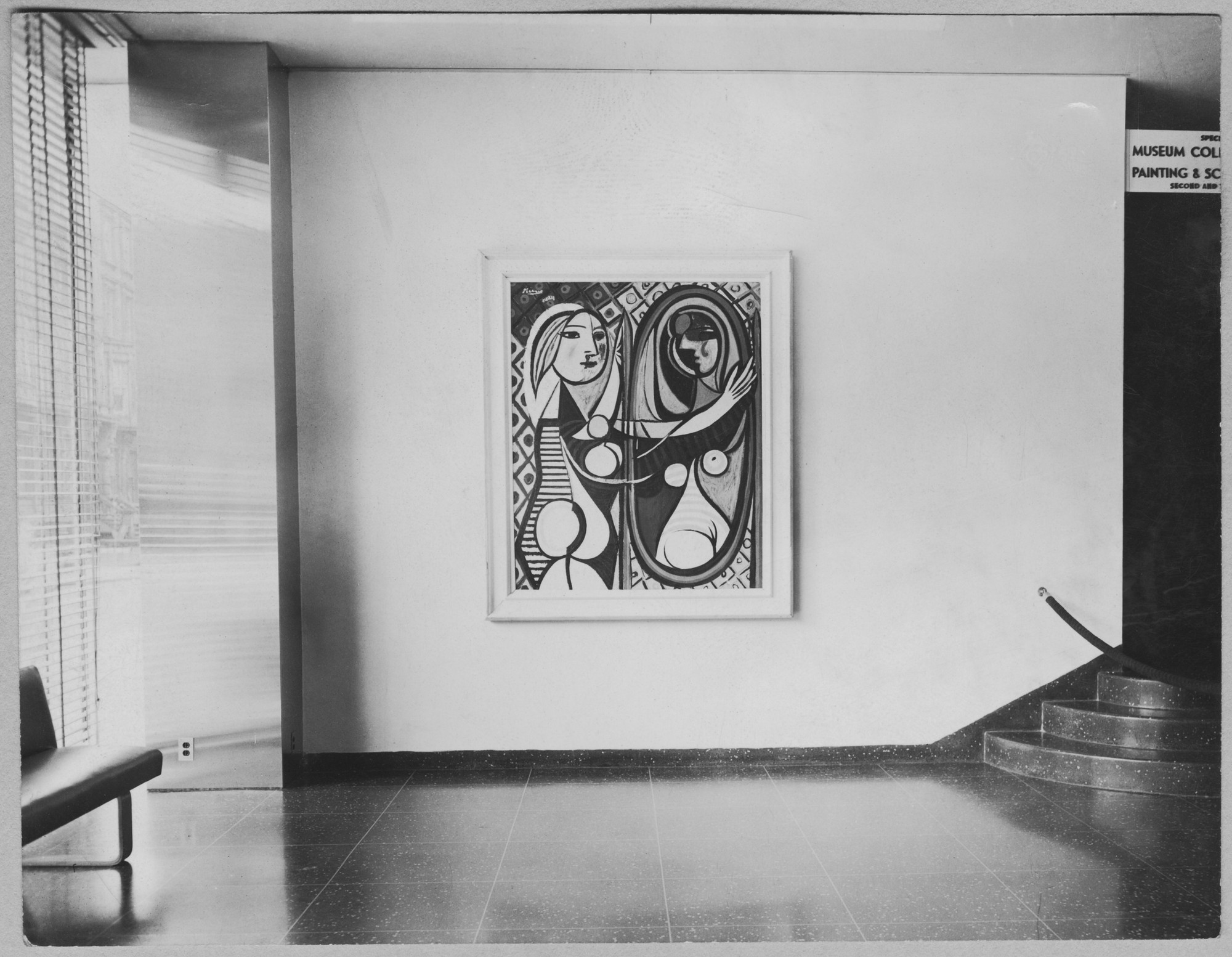 "Installation view of the exhibition, ""The Museum Collection of Painting and Sculpture."" June 20, 1945–January 13, 1946 2nd floor; June 20, 1945–February 13, 1946 3rd floor. Photographic Archive. The Museum of Modern Art Archives, New York. IN290.1A"