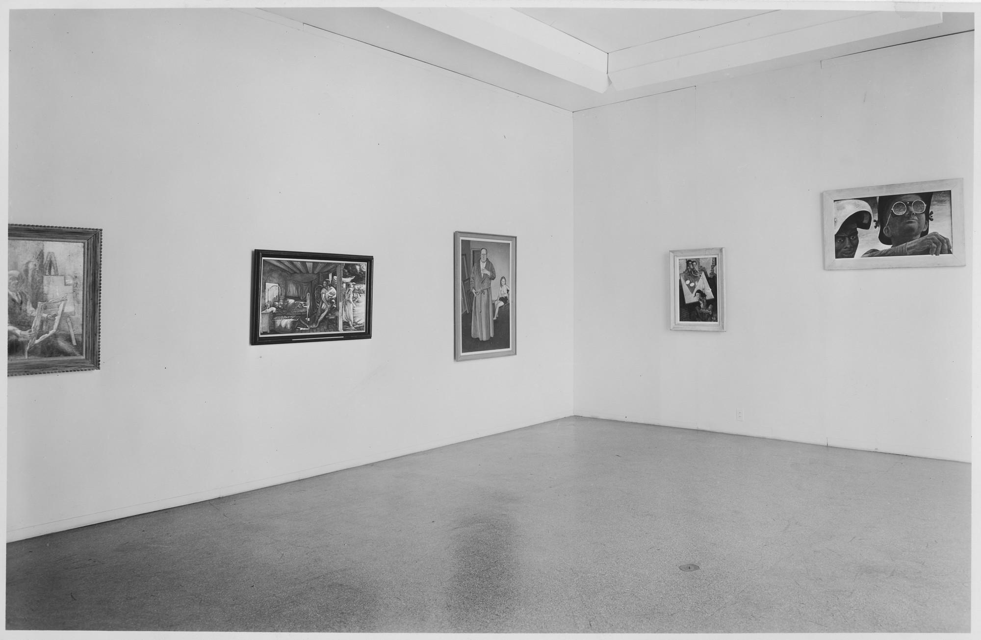 "Installation view of the exhibition, ""Recent Acquisitions."" February 15, 1945–March 18, 1945. Photographic Archive. The Museum of Modern Art Archives, New York. IN276.1. Photograph by Soichi Sunami."