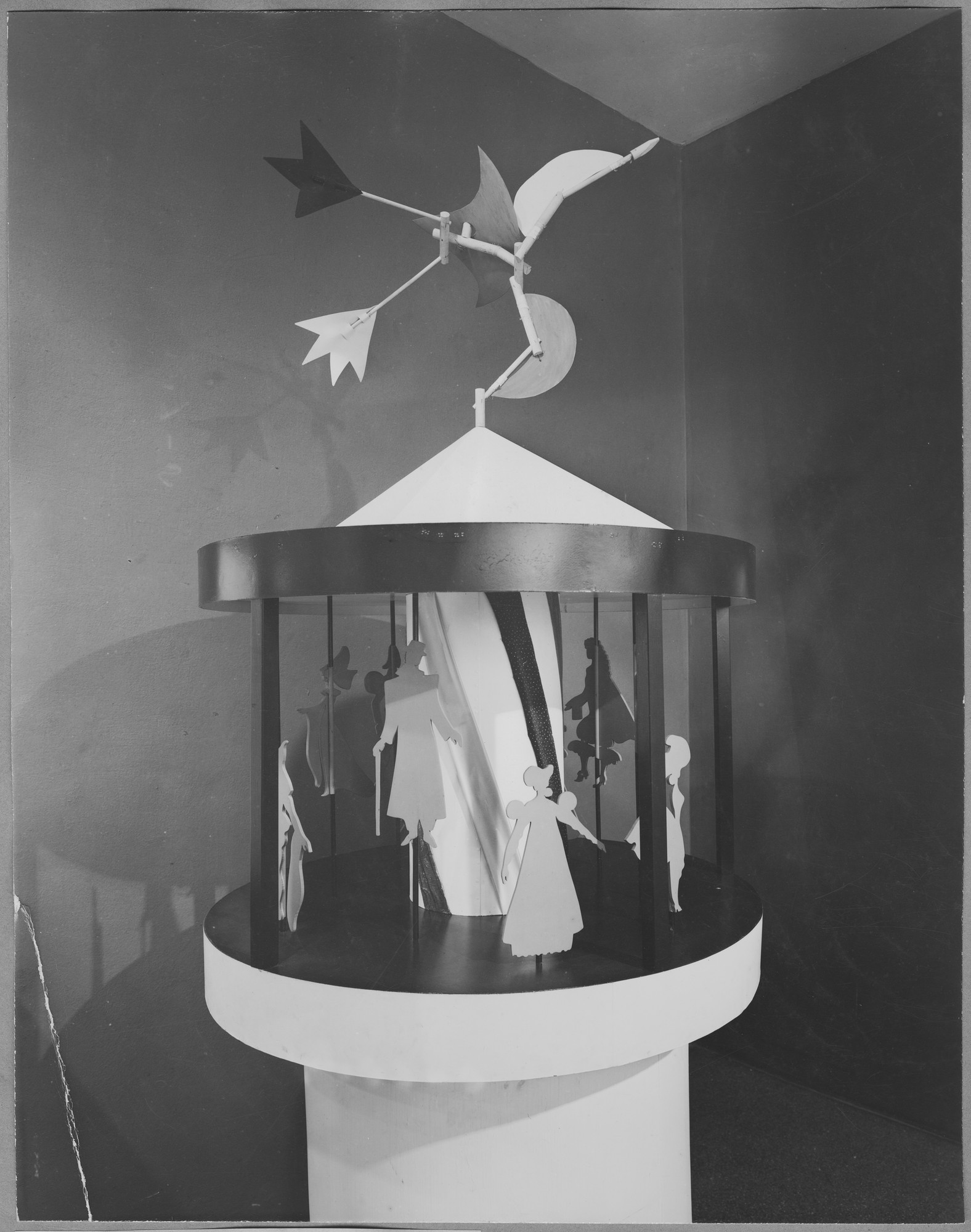 "Installation view of the exhibition, ""Costume Carnival."" September 19, 1945–November 25, 1945. Photographic Archive. The Museum of Modern Art Archives, New York. IN296.1. Photograph by Soichi Sunami."