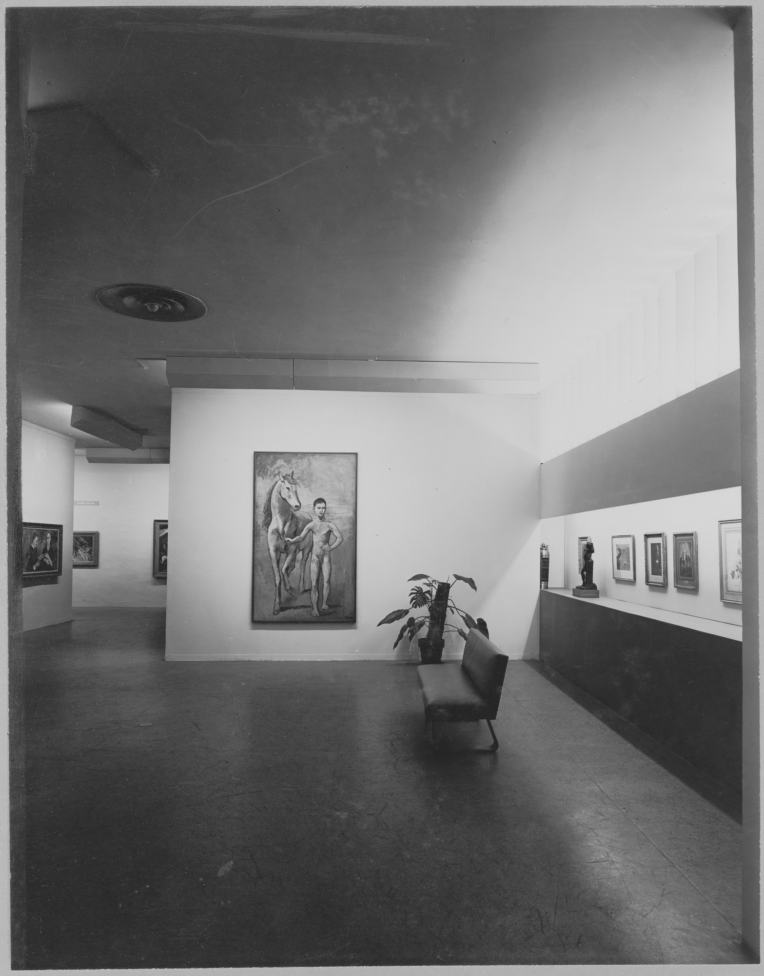 "Installation view of the exhibition, ""Paintings, Sculpture and Graphic Arts from the Museum Collection."" July 2, 1946 [unknown closing date]. Photographic Archive. The Museum of Modern Art Archives, New York. IN324.1. Photograph by Soichi Sunami."