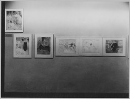 "Recent Acquisitions: 61 Lithographs by Toulouse-Lautrec and 31 Aquatints by Picasso for Buffon's ""Histoire Naturelle"". Nov 19, 1946–Jan 14, 1947. 5 other works identified"