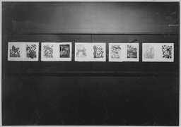 "Recent Acquisitions: 61 Lithographs by Toulouse-Lautrec and 31 Aquatints by Picasso for Buffon's ""Histoire Naturelle"". Nov 19, 1946–Jan 14, 1947. 9 other works identified"