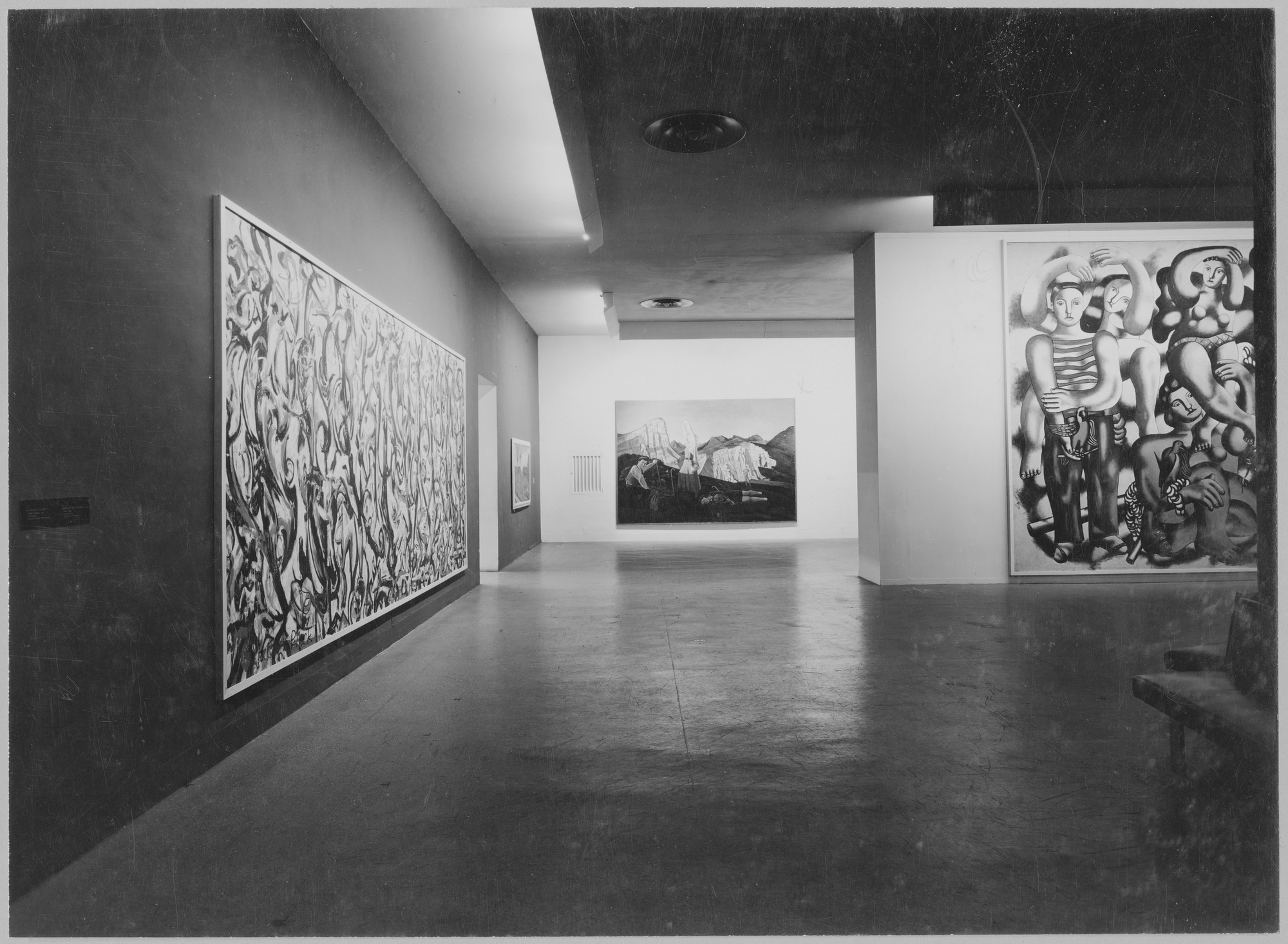 "Installation view of the exhibition, ""Large-Scale Modern Paintings."" April 1, 1947–May 4, 1947. Photographic Archive. The Museum of Modern Art Archives, New York. IN346.1. Photograph by Soichi Sunami."