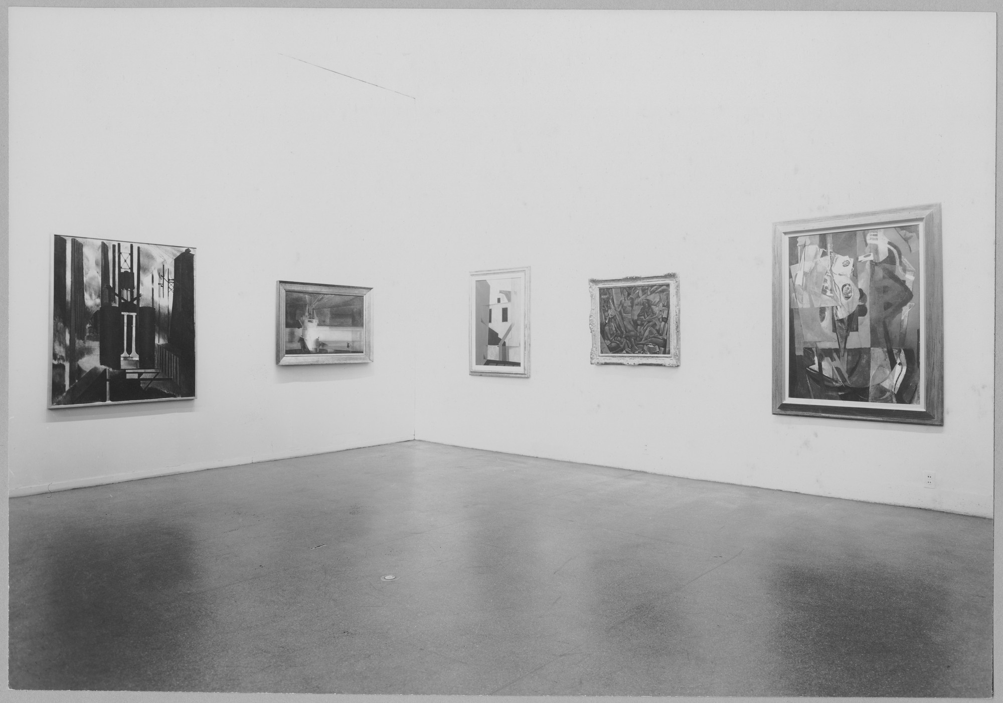 "Installation view of the exhibition, ""American Paintings from the Museum Collection."" December 23, 1948–March 13, 1949. Photographic Archive. The Museum of Modern Art Archives, New York. IN396.1. Photograph by Soichi Sunami."