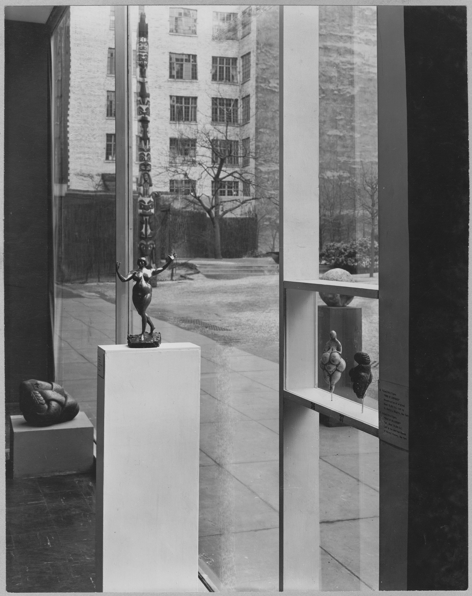 "Installation view of the exhibition, ""Timeless Aspects of Modern Art."" November 16, 1948–January 23, 1949. Photographic Archive. The Museum of Modern Art Archives, New York. IN393.1. Photograph by Soichi Sunami."