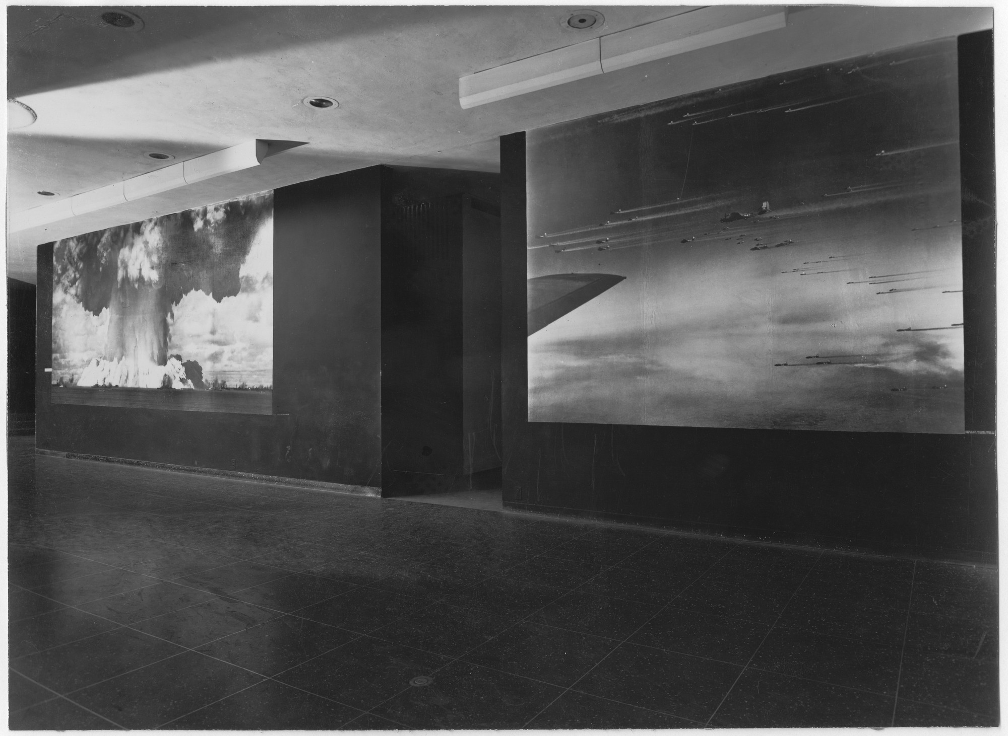 "Installation view of the exhibition, ""The Exact Instant."" February 8, 1949–May 1, 1949. Photographic Archive. The Museum of Modern Art Archives, New York. IN399.1. Photograph by Soichi Sunami."