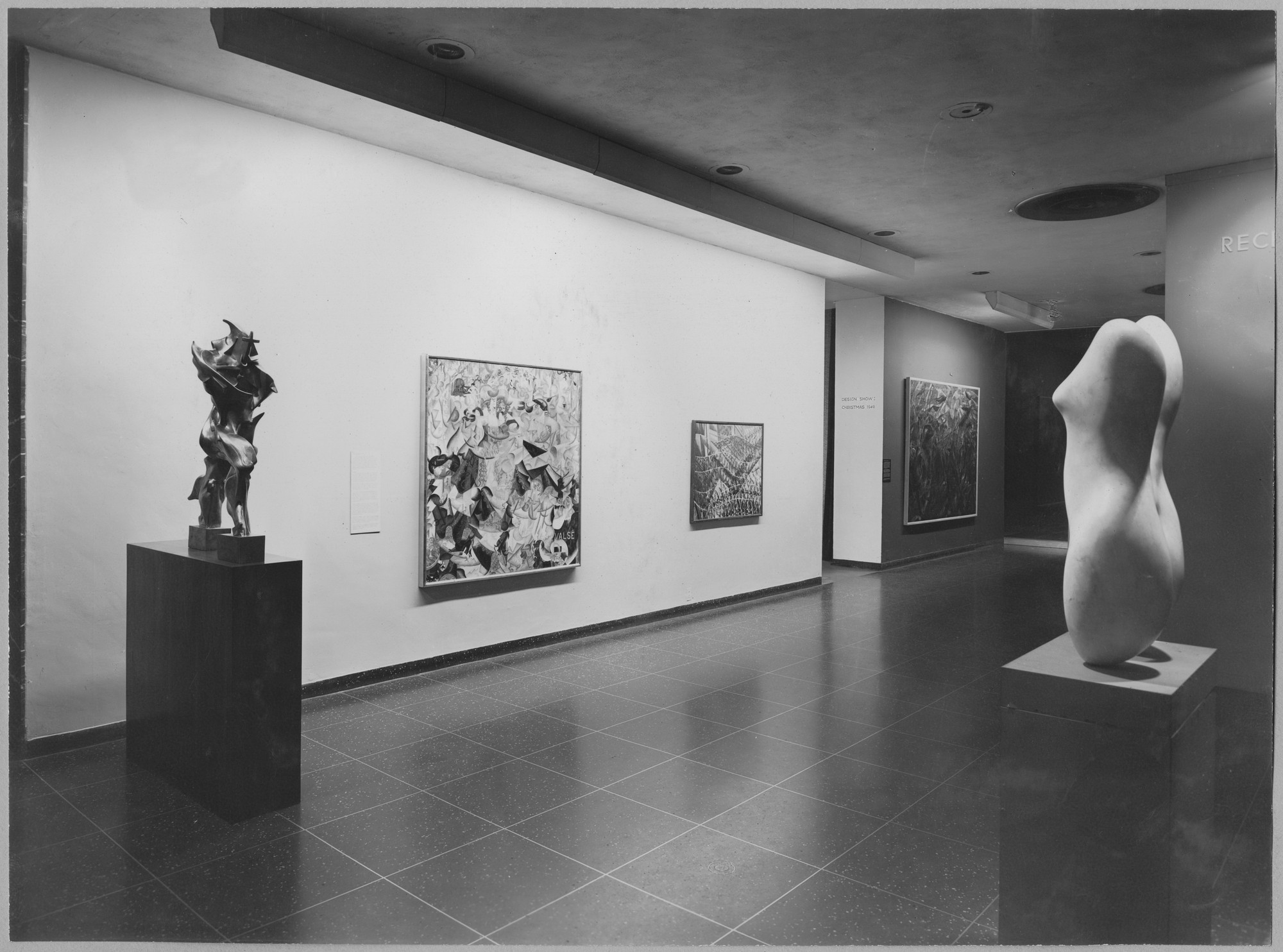 "Installation view of the exhibition, ""Recent Acquisitions."" October 25, 1949–January 22, 1950. Photographic Archive. The Museum of Modern Art Archives, New York. IN426.1. Photograph by Soichi Sunami."