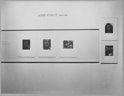 Photography Recent Acquisitions: Stieglitz, Atget. Mar 28–May 7, 1950. 1 other work identified