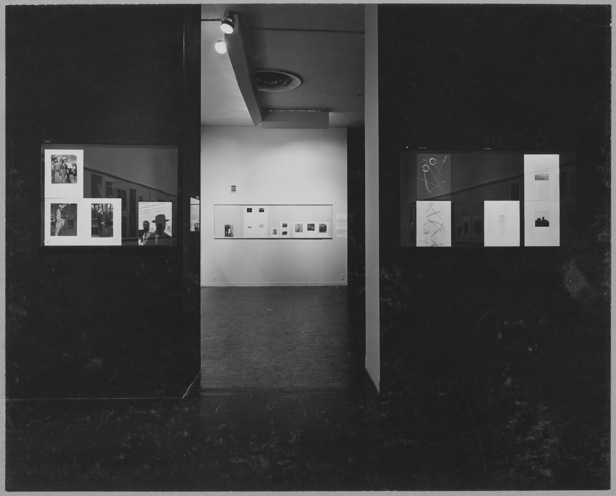 "Installation view of the exhibition, ""Photographs by 51 Photographers."" August 1, 1950–September 17, 1950. Photographic Archive. The Museum of Modern Art Archives, New York. IN454.1. Photograph by Soichi Sunami."