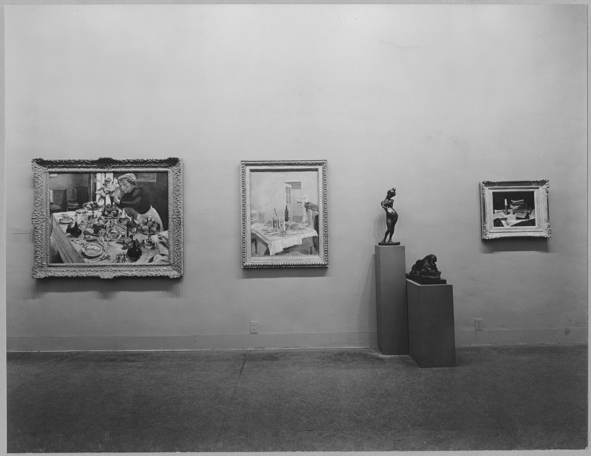 "Installation view of the exhibition, ""Henri Matisse."" November 13, 1951–January 13, 1952. Photographic Archive. The Museum of Modern Art Archives, New York. IN492.1. Photograph by Soichi Sunami."