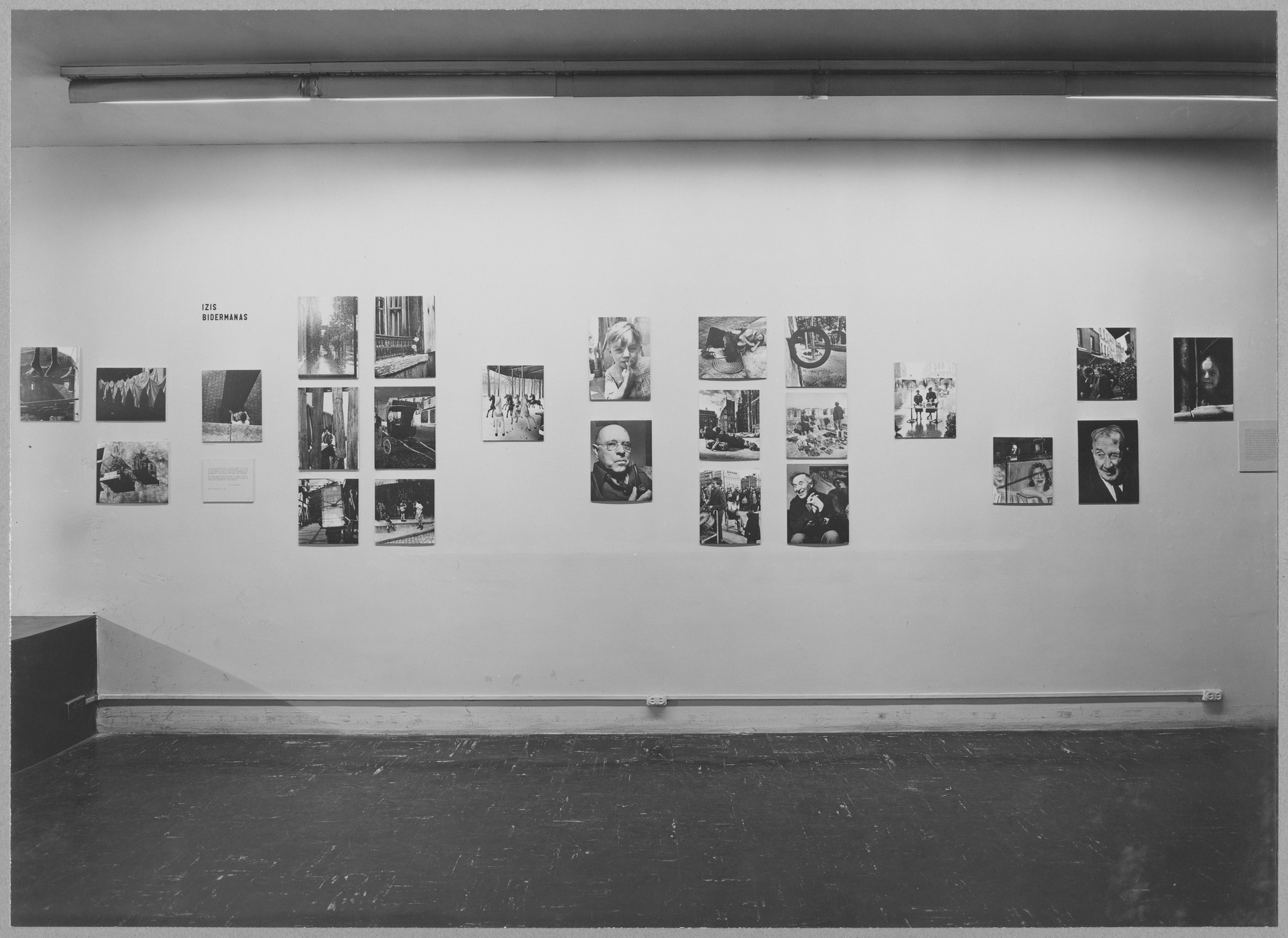 "Installation view of the exhibition, ""Five French Photographers."" December 18, 1951–February 24, 1952. Photographic Archive. The Museum of Modern Art Archives, New York. IN497.1. Photograph by Soichi Sunami."