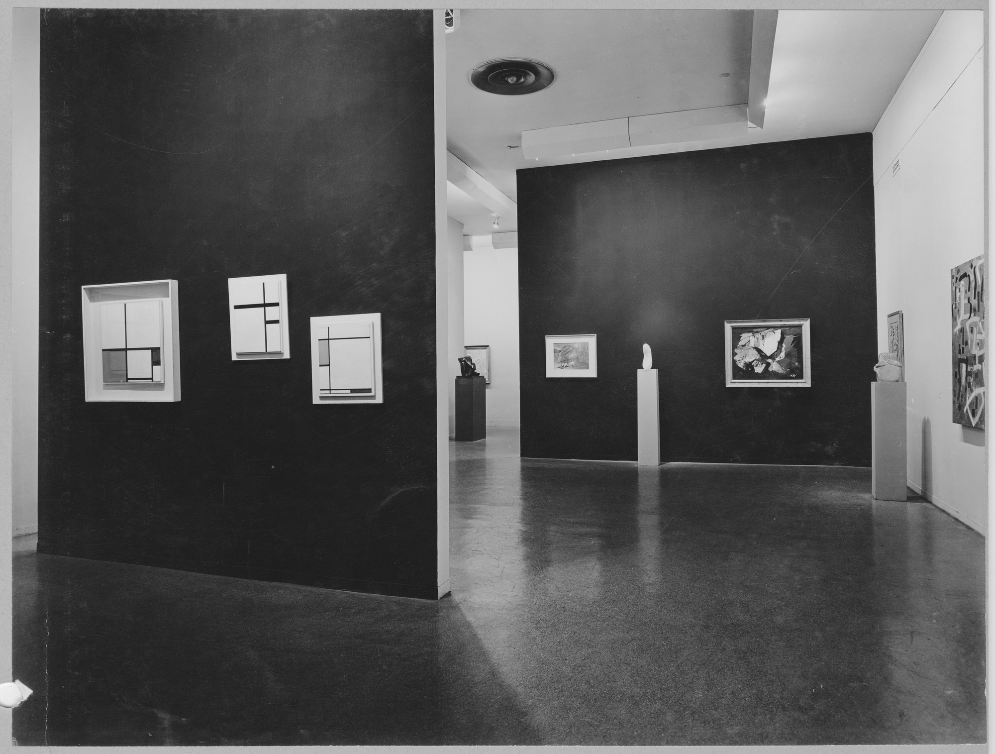 "Installation view of the exhibition, ""Selections from 5 New York Private Collections."" June 26, 1951–September 9, 1951. Photographic Archive. The Museum of Modern Art Archives, New York. IN480.1. Photograph by Soichi Sunami."