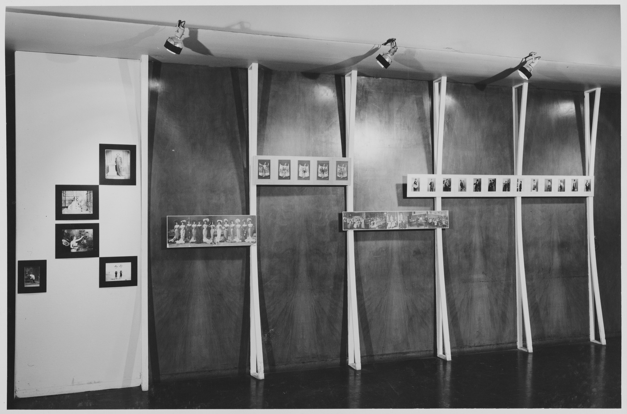 "Installation view of the exhibition, ""Forgotten Photographers"" August 23, 1951–November 4, 1951. Photographic Archive. The Museum of Modern Art Archives, New York. IN486.1. Photograph by Oliver Baker."